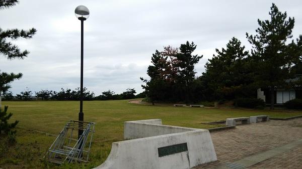 石川県_志賀町にある赤住漁港公園