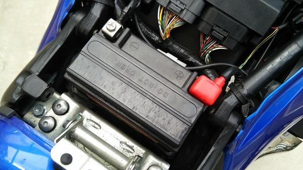 バイクのバッテリー