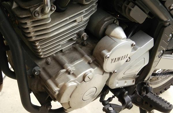 バイクの空冷エンジン