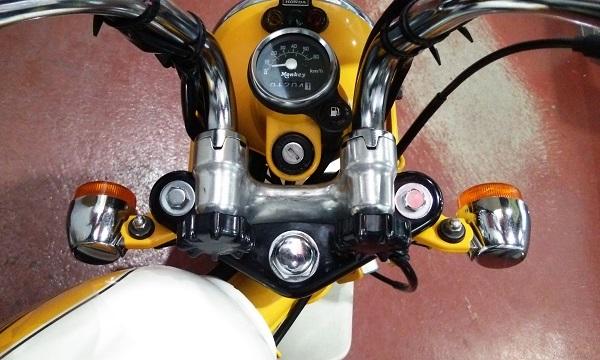 ホンダのバイクのモンキー