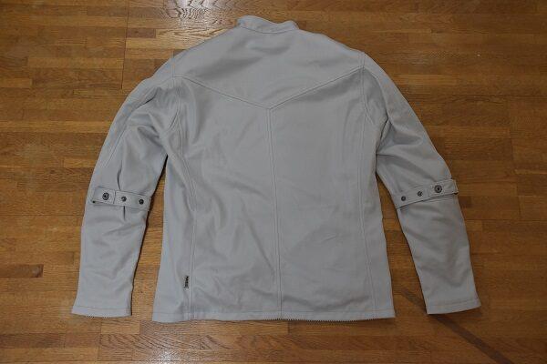 パワーエイジのメッシュジャケットのアーリーライダースのグレイッシュホワイト