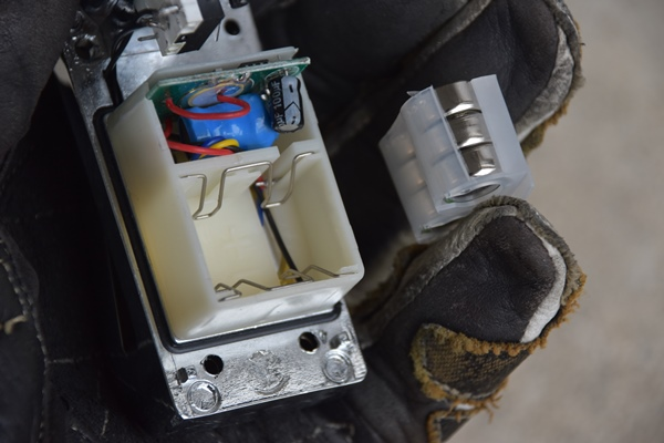 INBIKE CR3603 アラームディスクロック 電池