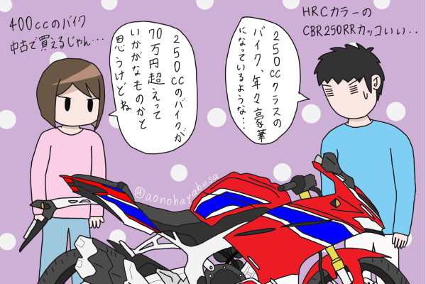 ホンダ バイク CBR250RR あおぶさモーターサイクル
