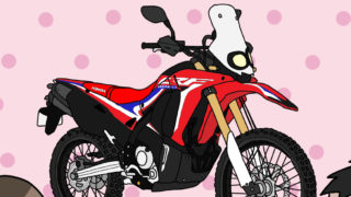 ホンダ オフロードバイク CRF250Rally 2018