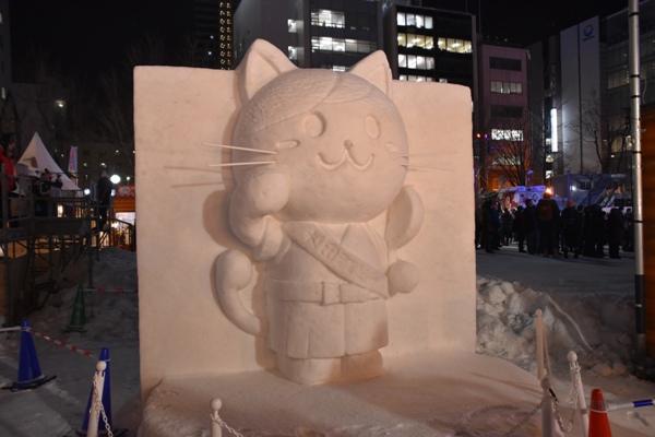 さっぽろ雪まつり2019 大通会場 雪像