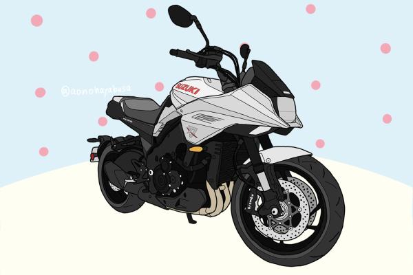 スズキ バイク ネイキッド 新型 GSX-S1000S KATANA カタナ シルバー
