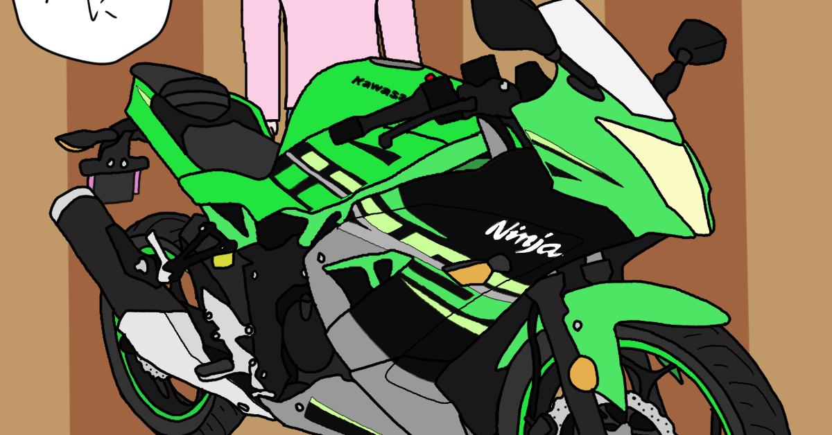 カワサキ バイク Ninja125 KRTカラー