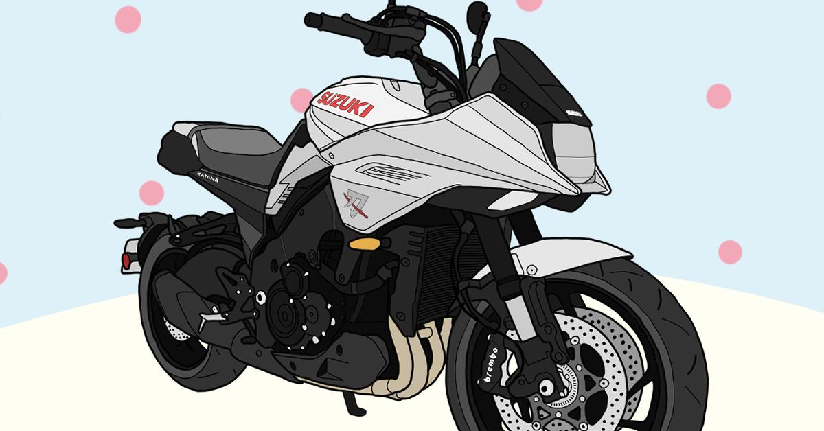 スズキ バイク カタナ 新型 第35回大阪モーターサイクルショー2019 展示 実車またがり体験