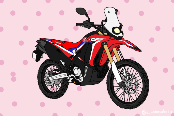 ホンダ オフロードバイク CRF250Rally