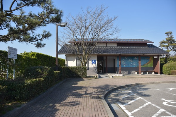 石川県 能登半島 滝ロードパーク 駐車場