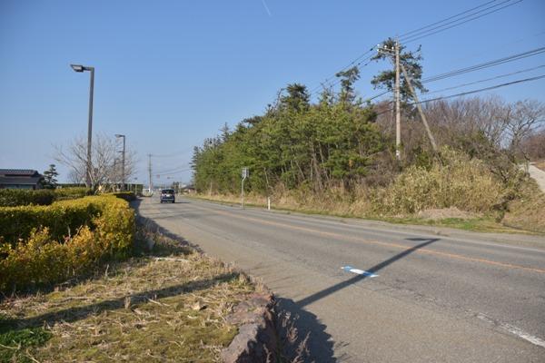 石川県 能登半島 滝ロードパーク 駐車場 海 田園 道路