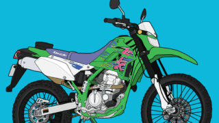 カワサキ オフロードバイク トレール KLX250 ファイナルエディション FINAL EDITION
