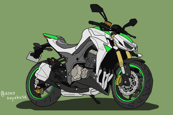 カワサキ バイク Z1000 2014年式
