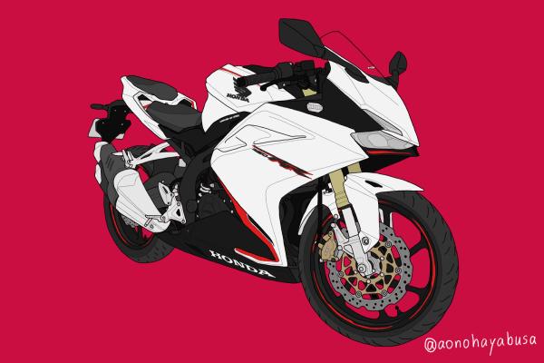 ホンダ バイク CBR250RR パールグレアホワイト 2019年式