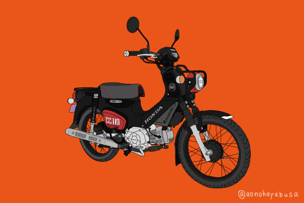 ホンダ バイク クロスカブ110 くまモンバージョン