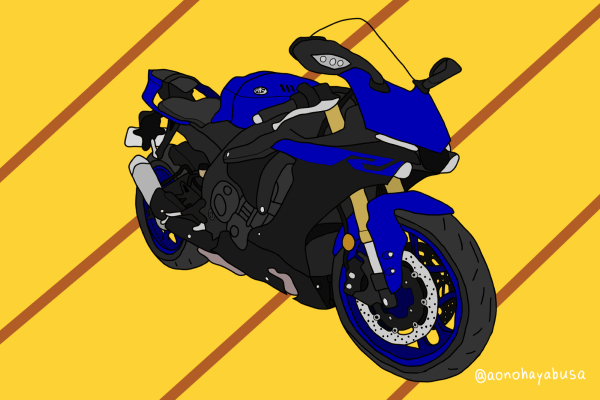 ヤマハ バイク リッターSS YZF-R1 2019年式 ブルー プレスト
