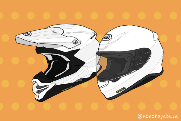 SHOEI ヘルメット オンロード オフロード モトクロス Z-7 VFX-WR ホワイト