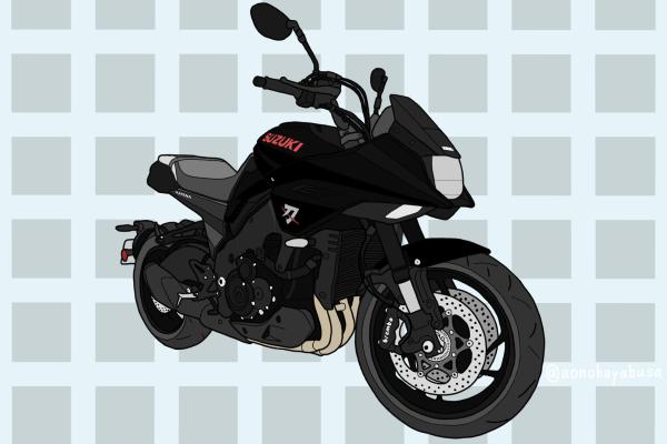 スズキ バイク ネイキッド 新型 GSX-S1000S KATANA カタナ ブラック 2019年式
