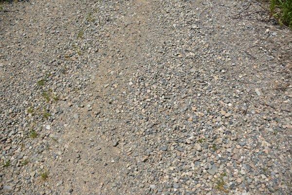 砂利道 オフロード 未舗装路