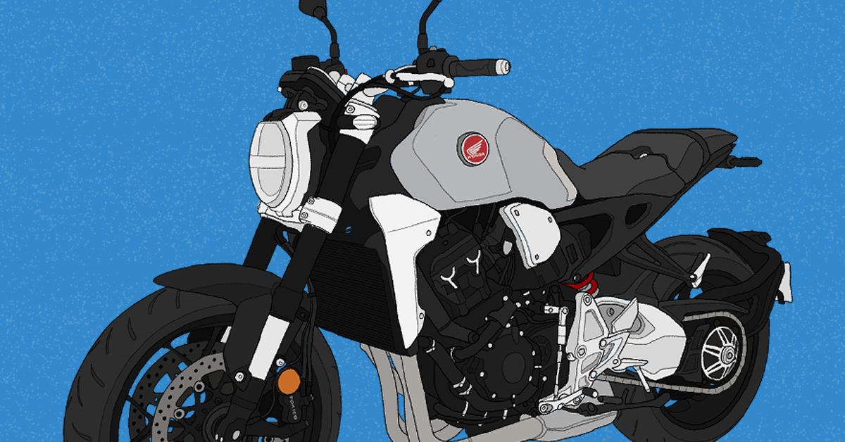 ホンダ バイク CB1000R 2019年式 ソードシルバーメタリック