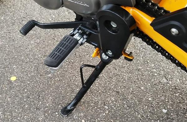 ホンダ バイク モンキー125 バナナイエロー 試乗会 2019年鈴鹿8耐 スタンド