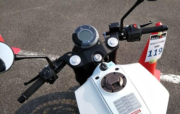 HUSQVARNA バイク VITPILEN401 試乗会 鈴鹿8耐