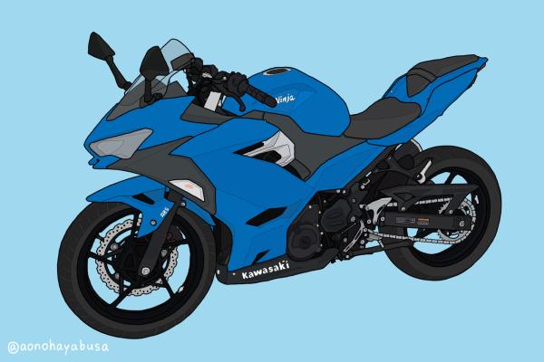 カワサキ バイク Ninja250 2018年式 ブルー