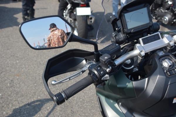 ホンダ バイク スクーター X-ADV 2019年式 マットアーマードグリーンメタリック ハンドガード
