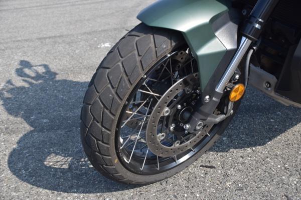 ホンダ バイク スクーター X-ADV 2019年式 マットアーマードグリーンメタリック フロント周り