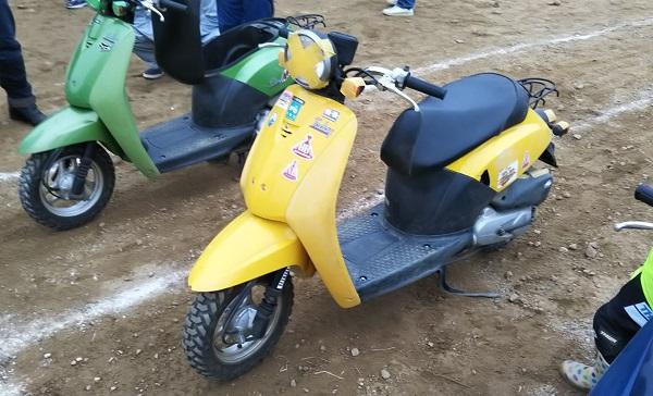 ホンダ バイク スクーター トゥデイ オフロード