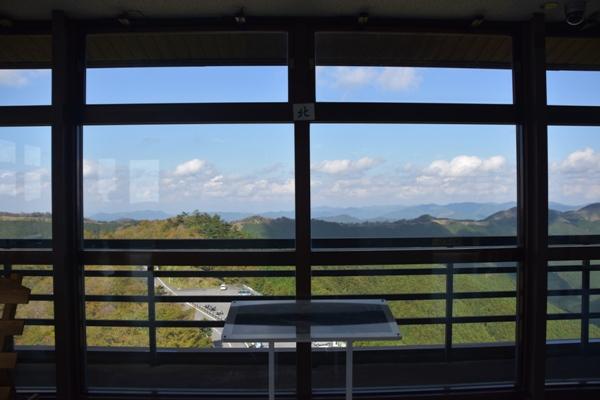 和歌山県 道の駅 田辺市龍神ごまさんスカイタワー 展望台