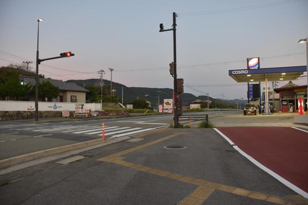 和歌山県 すさみ 交差点