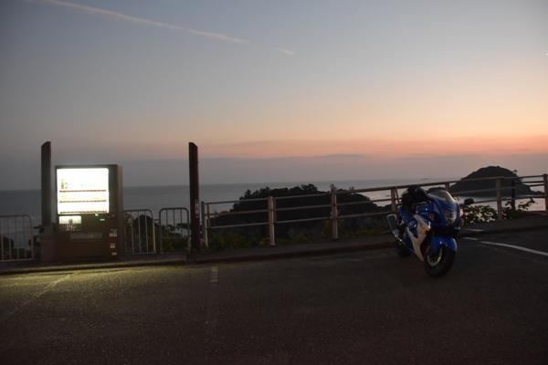 和歌山県 海沿い 駐車場 バイク