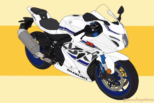 スズキ バイク リッターSS GSX-R1000R 2018年式 パールグレッシャーホワイト