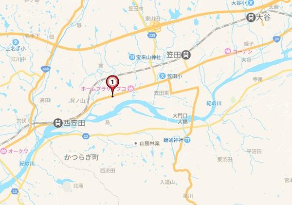 日本地図 和歌山県