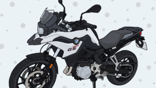 BMW motorrad モトラッド バイク アドベンチャー F750GS 2019年式 ライト・ホワイト