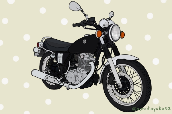 ヤマハ バイク ネイキッド SR400 2019年モデル ヤマハブラック