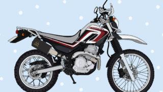 バイク ヤマハ オフロード SEROW250 2010年式 パープリッシュホワイトソリッド1(ホワイト/ブロンズ)