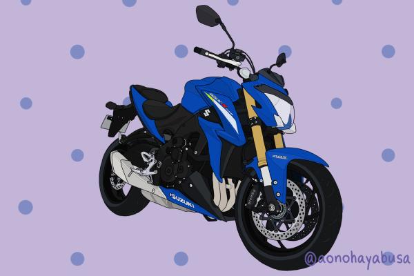 スズキ バイク ネイキッド GSX-S1000 トリトンブルーメタリック