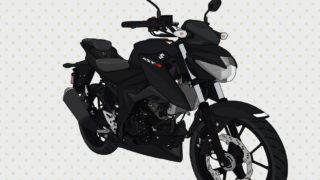スズキ バイク ネイキッド 原付二種 GSX-S125 ソリッドブラック