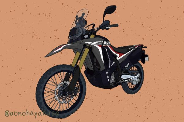 ホンダ オフロードバイク CRF250RALLY ブラック