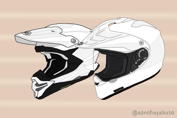 バイク ヘルメット オフロード SHOEI HORNET ADV VFX-WR ホワイト
