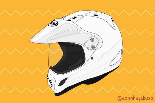 バイク ヘルメット オフロード Arai TOUR CROSS3 ホワイト