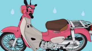 ホンダ バイク 原付二種 スーパーカブ110 『天気の子』ver. レンタル専用車両 HondaGO BIKE RENTAL