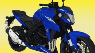 スズキ バイク ネイキッド GSX-S750 トリトンブルーメタリック