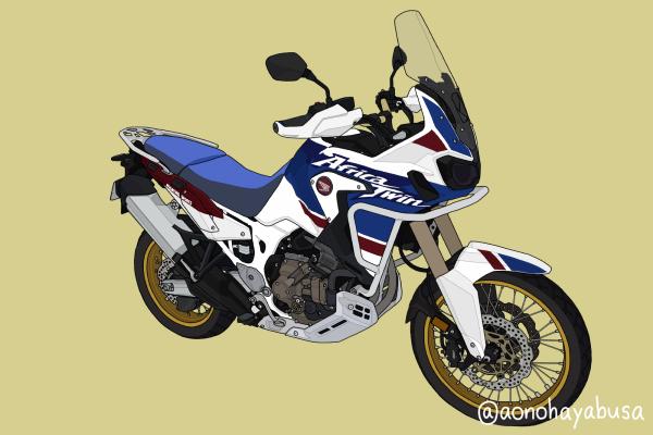 ホンダ バイク アドベンチャー CRF1000L Africa Twin Adventure Sports Dual Clutch Transmission パールグレアホワイト トリコロール