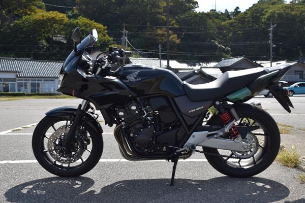 バイク ホンダ ネイキッド CB400 SUPERBOL'DOR ダークネスブラックメタリック
