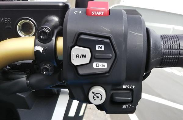 アドベンチャーバイク スイッチボックス DCT