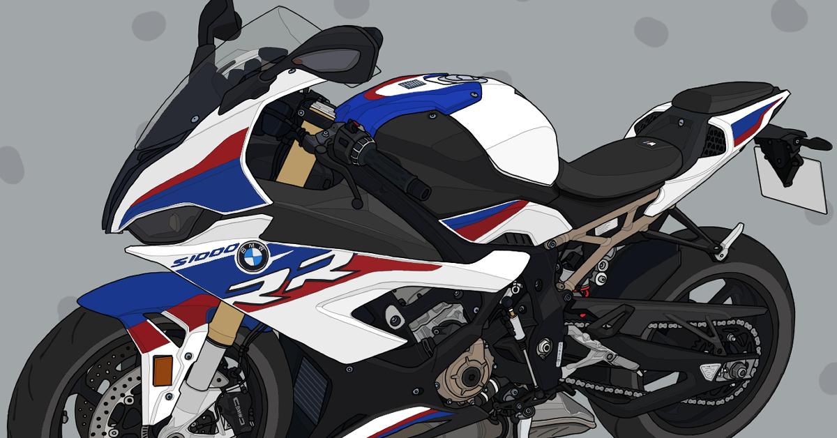 バイク リッターSS BMW motorrad S1000RR HP モータースポーツ