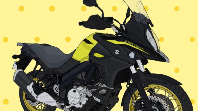 スズキ バイク アドベンチャー ミドルクラス V-Strom650XT チャンピオンイエロー